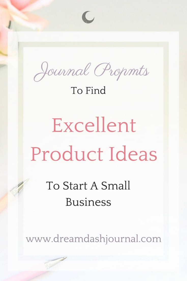 journal prompts for product ideas