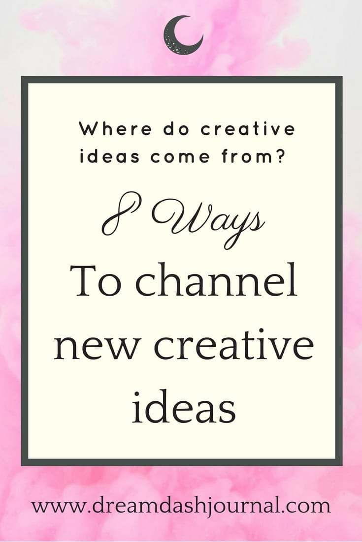 where do creative ideas come from?