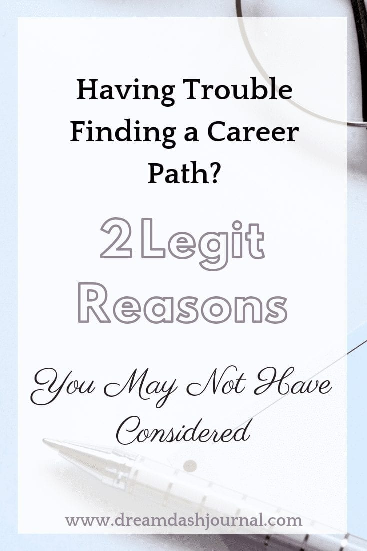 Having trouble finding a career path?