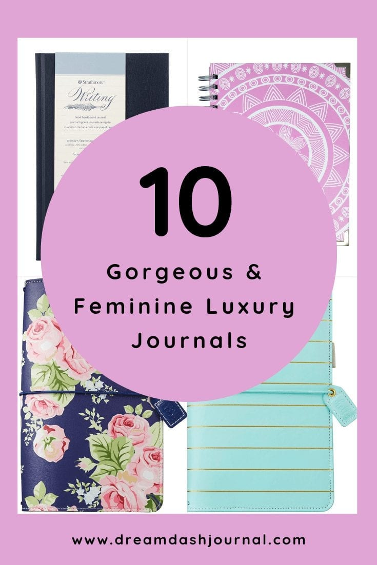 10 Gorgeous and feminine luxury journals