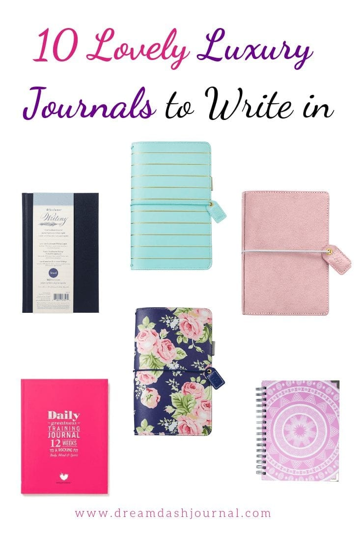 10 Gorgeous and Feminie Luxury Journals