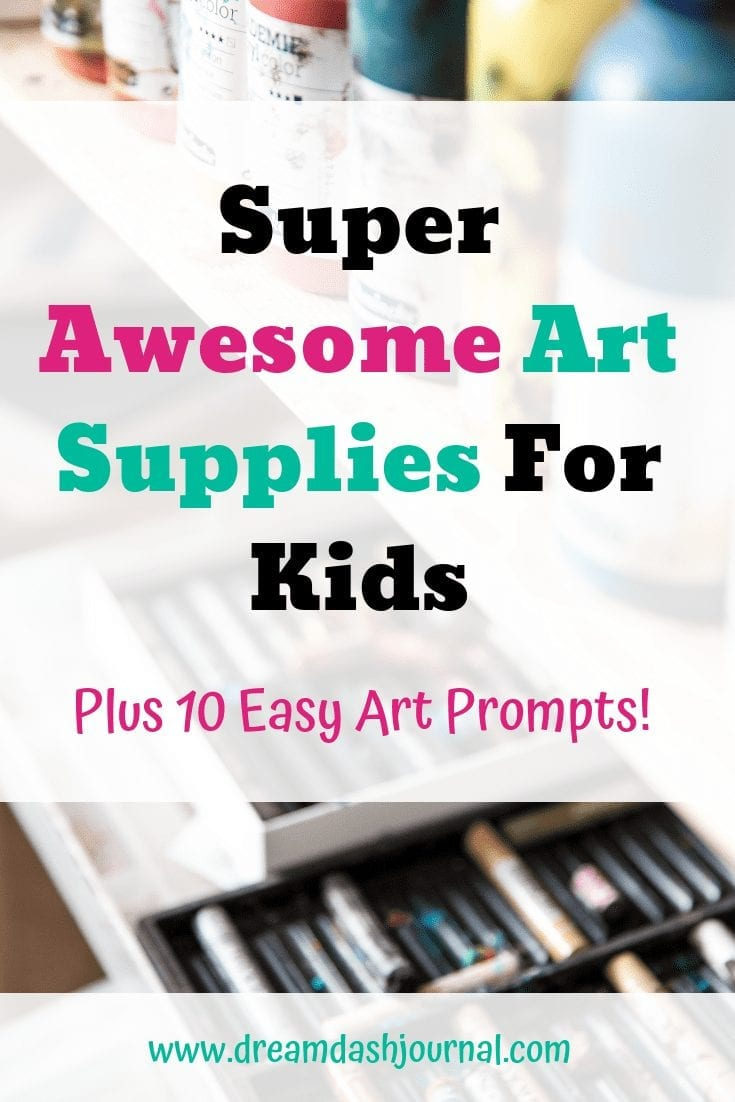 Super awesome art supplies for kids