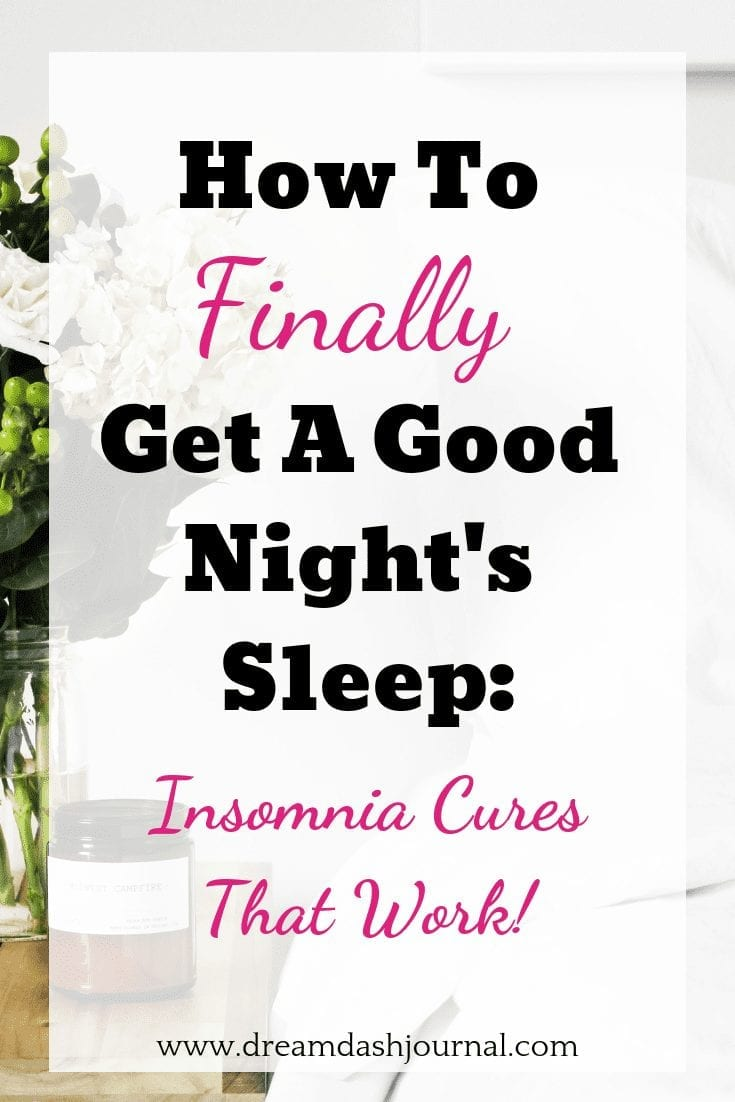 Insomnia Causes and Cures For Sleep Problems, Restlessness, Lack of Sleep, Can't Fall Asleep