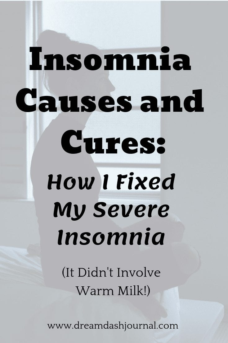 insomnia causes and cures