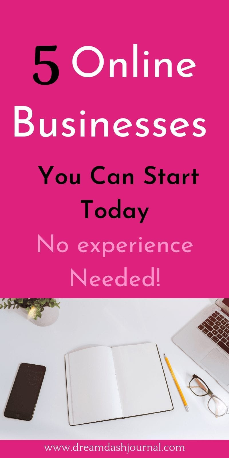 5 Profitable Home Business Ideas Online {With No Experience Needed!}