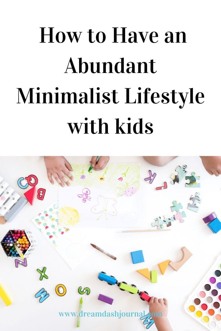 How to stop spending money on stuff you don't need and create a minimalist home that still feels abundant. Minimalist living with kids can be done.