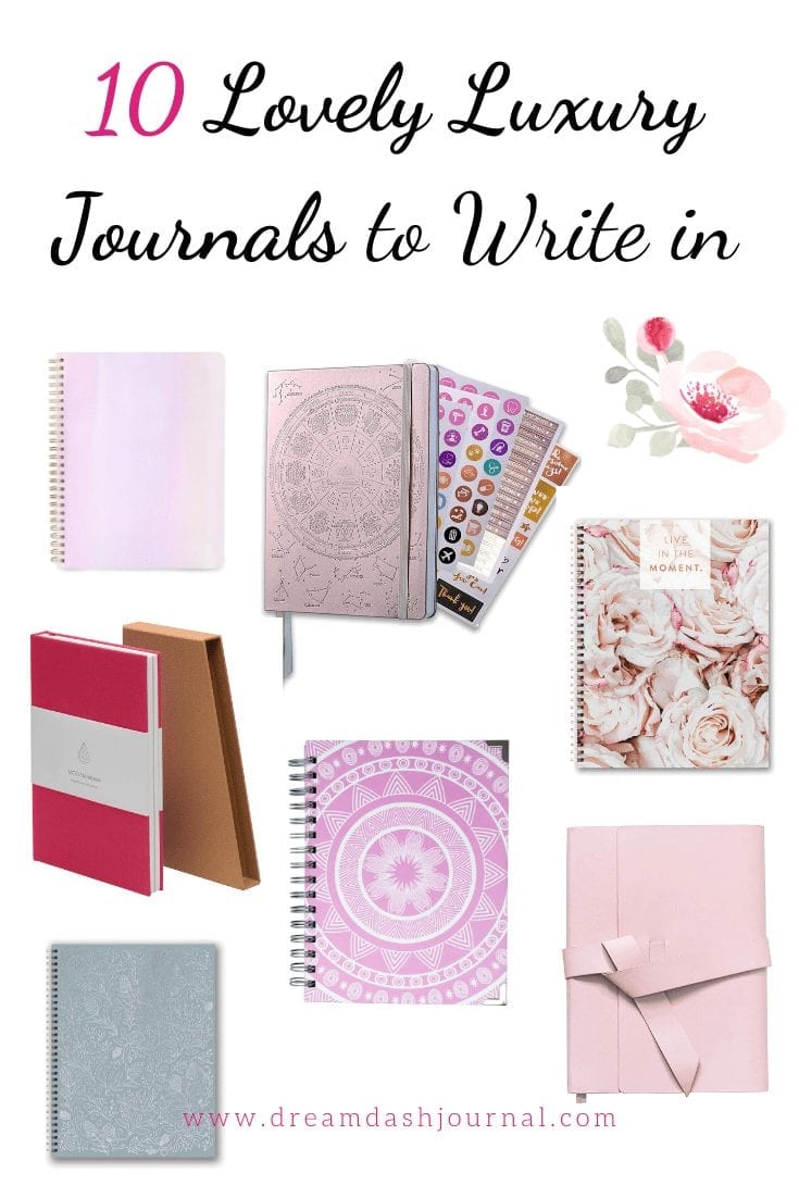 10 Gorgeous and Feminine Luxury Journals to Write In