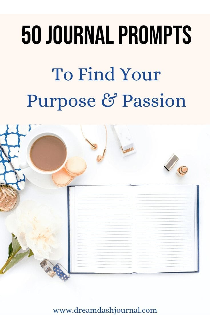 Journal prompts to find your purpose when you're feeling lost