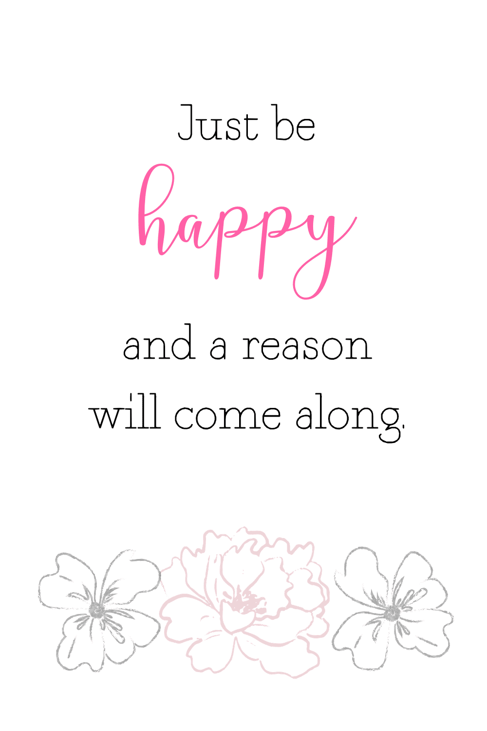 Cute happy quotes about life