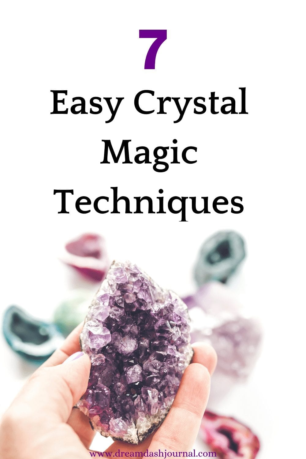 working with crystals and stones
