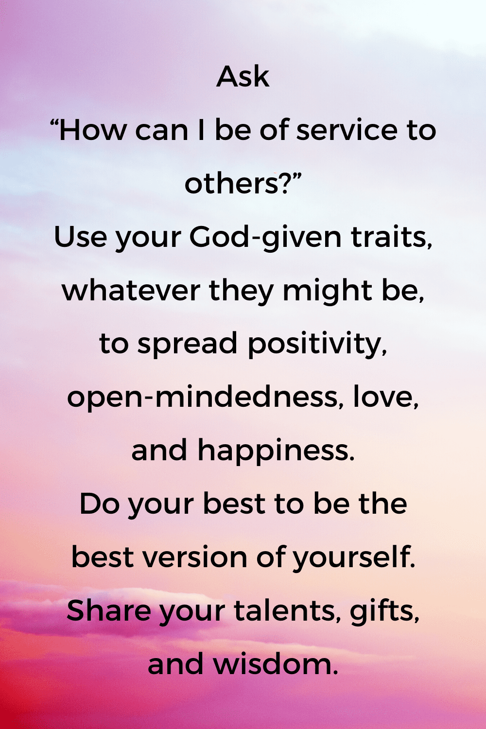 be of service quotes