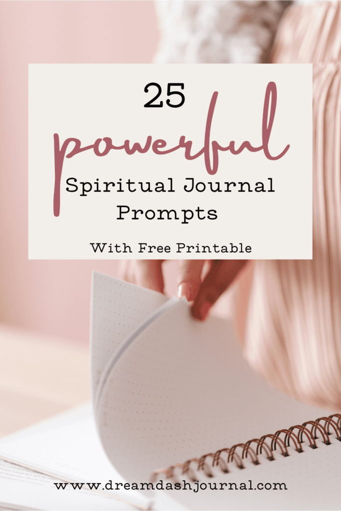 Spiritual journal prompts