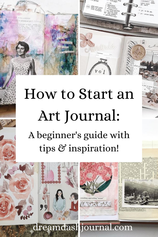 How to Start an Art Journal For Beginners