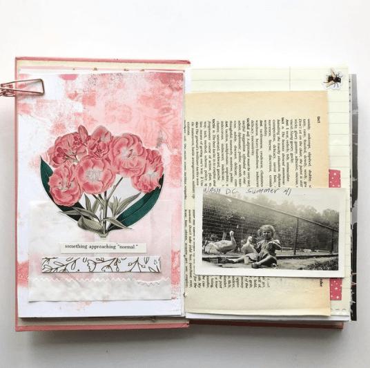 start an art journal