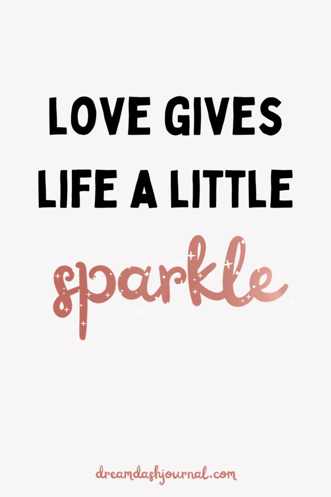 love makes life beautiful quotes