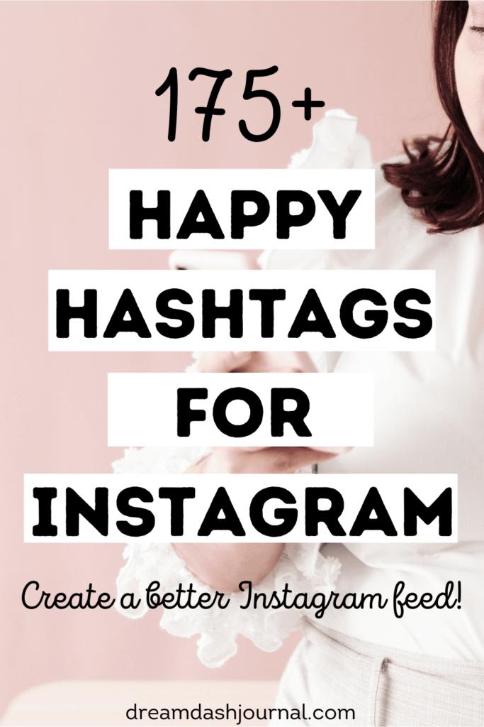 happy hashtags