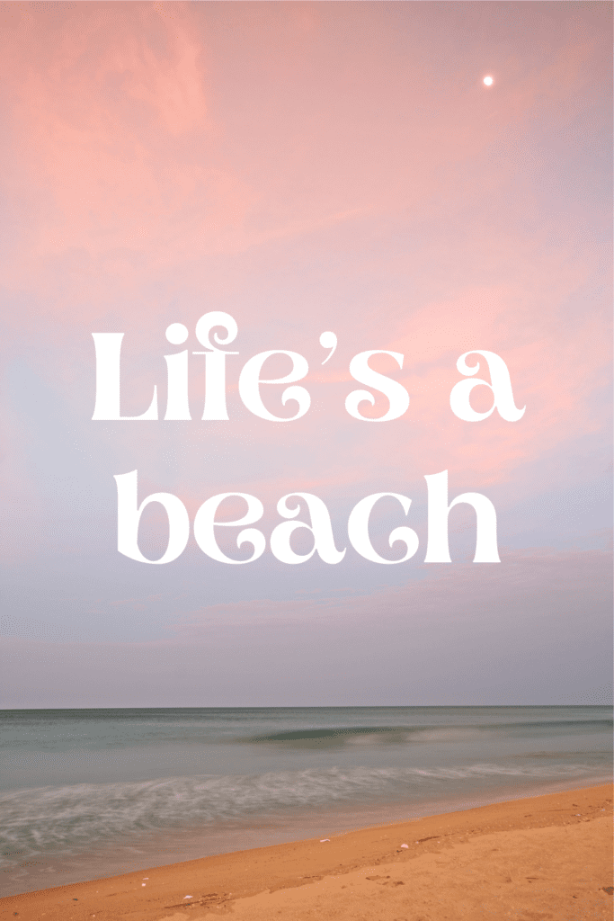beach quotes tropical