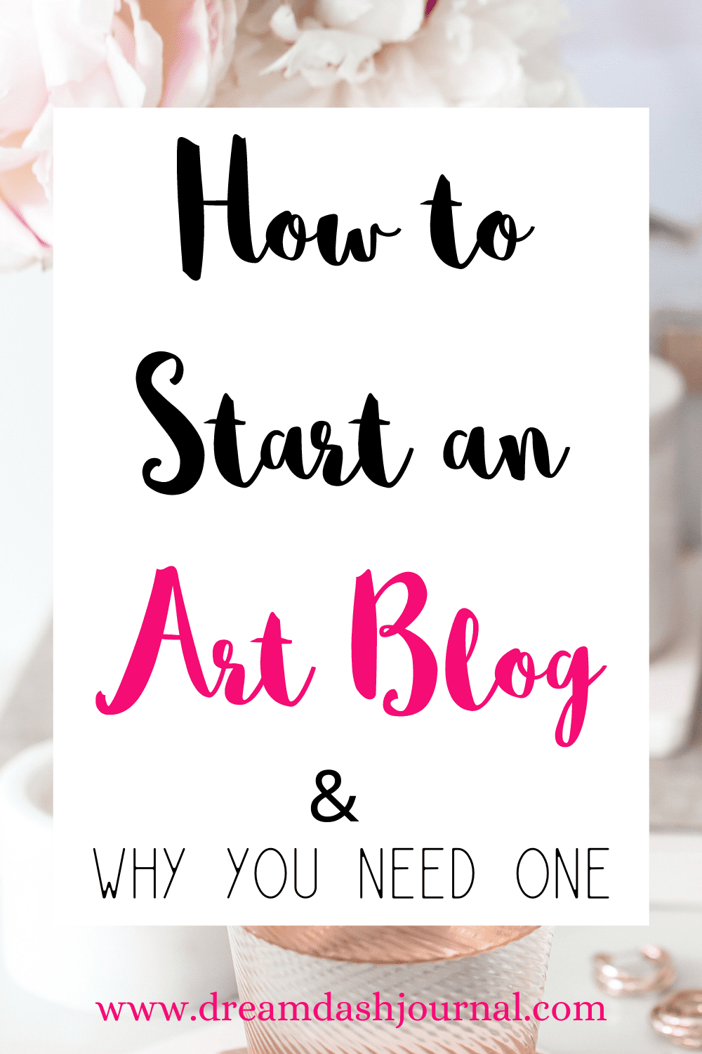 How to Start an Art Blog With No Tech Skills and Why You Need One