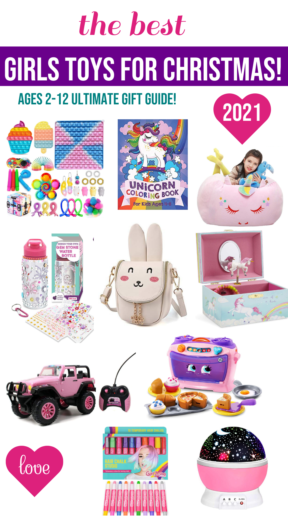 Super Cute Girls Toys for Christmas {Must Haves & Cool Stuff!}